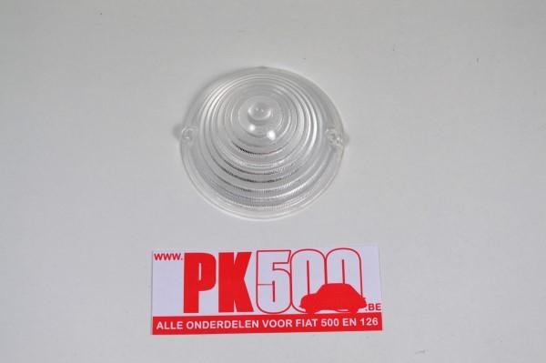 Glas knipperlicht voorzijde wit Fiat500ND