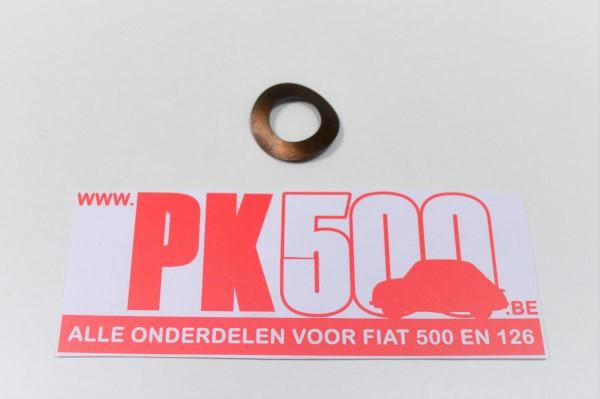 Shim tbv verbindingsboutje a-kw Fiat500 - Fiat126