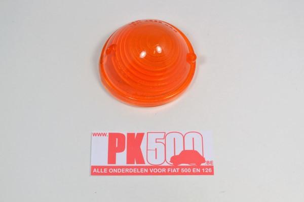 Clignoteur/feu de ville orange VERRE Fiat500