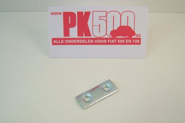 Deurvanger onderlegplaatje Fiat500D/Gia