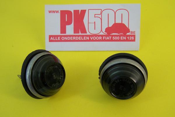 Knipperlichten spatbord smoke Fiat500FLR