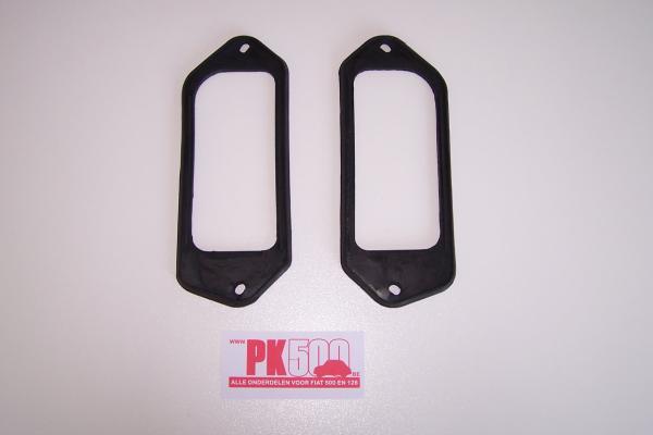Set rubbers achterlichten Fiat500D