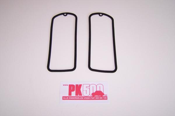 Set dunne rubbers achterlichten Fiat500D
