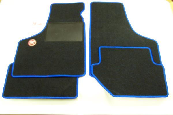 Mattenset 'Fiat' blauw