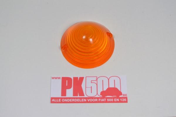 Glas knipperlicht voorzijde oranje Fiat500ND