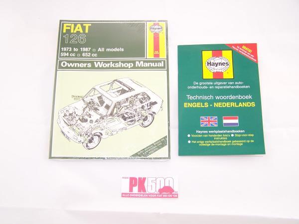 Haynes handboek Fiat126