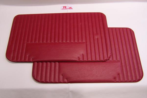 Set panneaux porte rouge Fiat500L