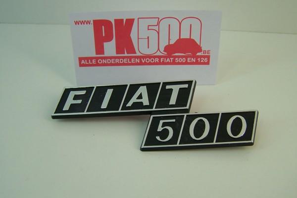 Emblème arrière 'Fiat500'