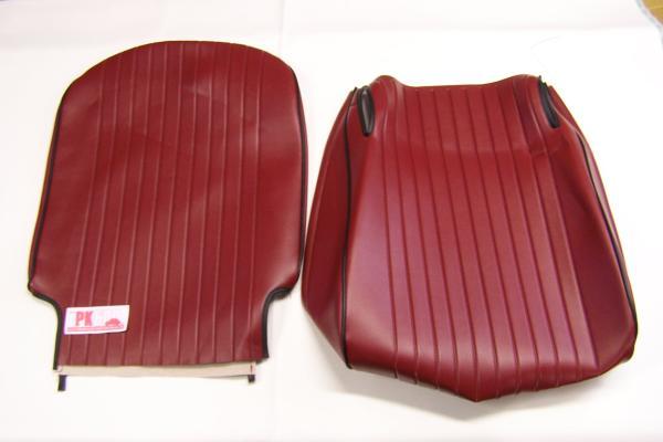 Complete bekledingsset bordeaux Fiat500L