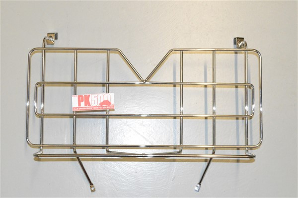 Porte-bagage chromé Fiat500