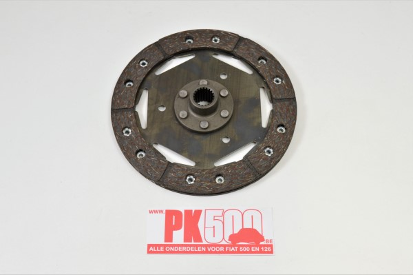 Koppelingsplaat 155mm 20t IT Fiat500FLR - Fiat126