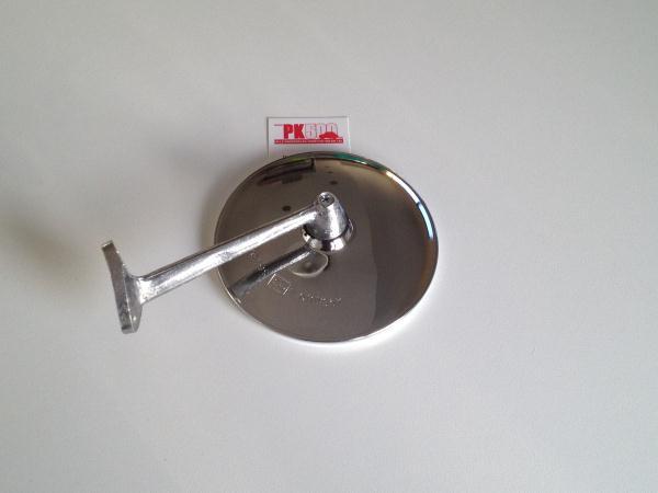 Miroir plat ronde avec pied, zamac Fiat500D/Gia