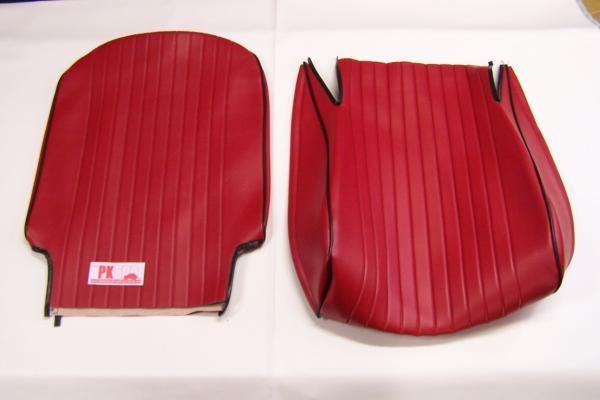 Complete bekledingsset rood Fiat500L