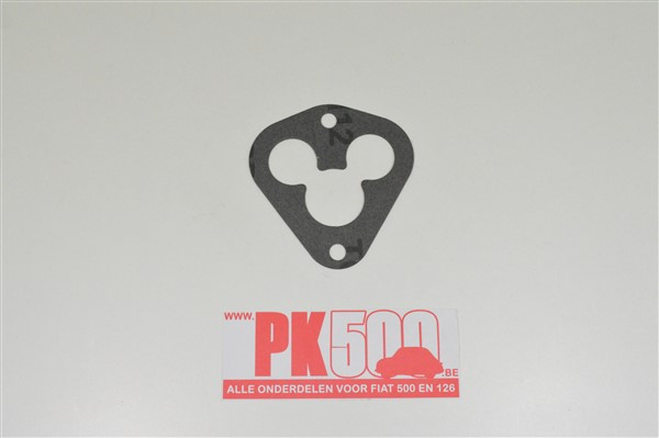 Pakking onder lekplaat Fiat500Gia
