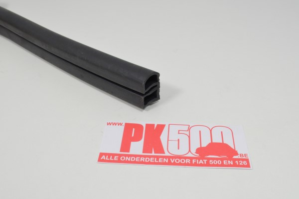 Rubber onderzijde achterdeur (DE) Fiat500Gia