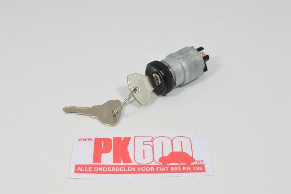 Contacteur à clé avec anneau noir plastic Fiat500 - Fiat600