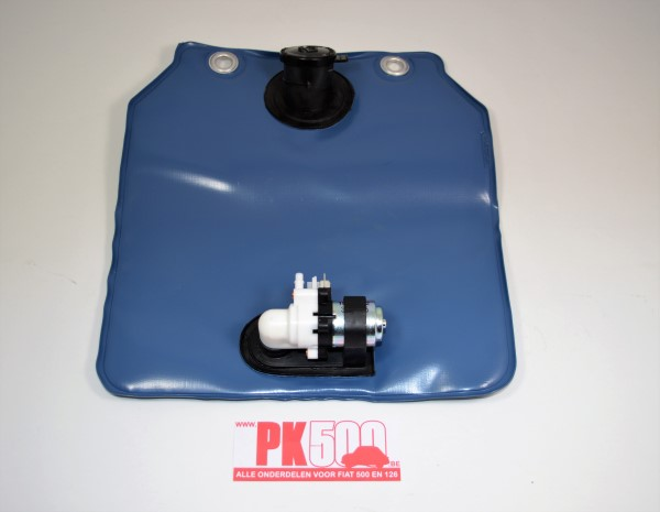 Waterzak vierkant met electr.pompje