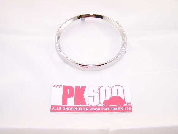 Chroom ring kilometerteller Fiat500FR