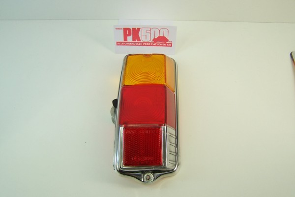 Achterlichtglas rond rechts Fiat500