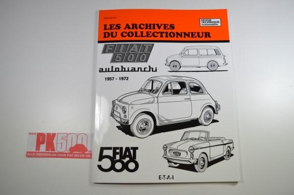 Etai: les archives du collectionneur Fiat500