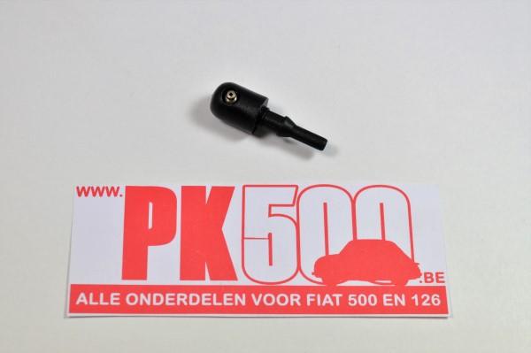 Ruitensproeier zwart, metalen sproeier Fiat500 - Fiat126