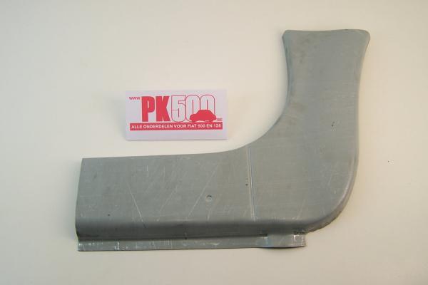 Rep.stuk dorpel/spatbord rechts Fiat500