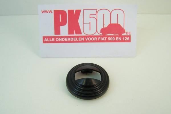 Rosace manette de porte noir Fiat500R