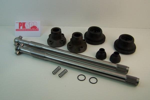 Aandrijfassenset compleet A-kw Fiat500FLR/Gia