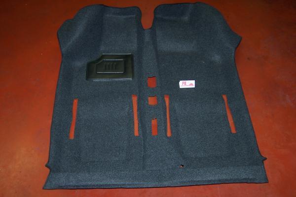 Tapijt 1-delig antraciet Fiat500 - Fiat126
