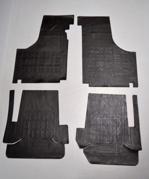 Rubberen mattenset Fiat500 - Fiat126