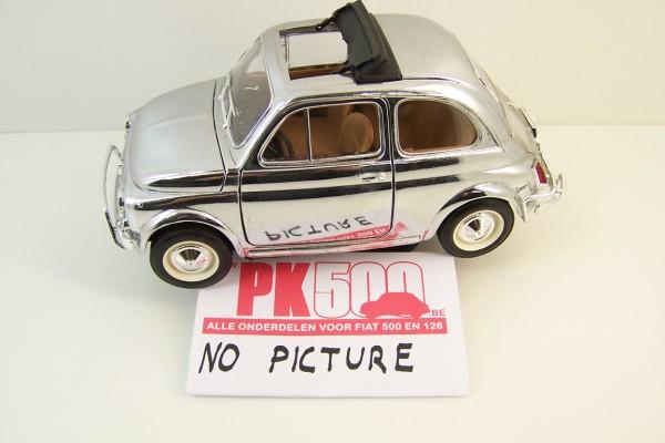Rep.plaat onderzijde deur links Fiat500FLR